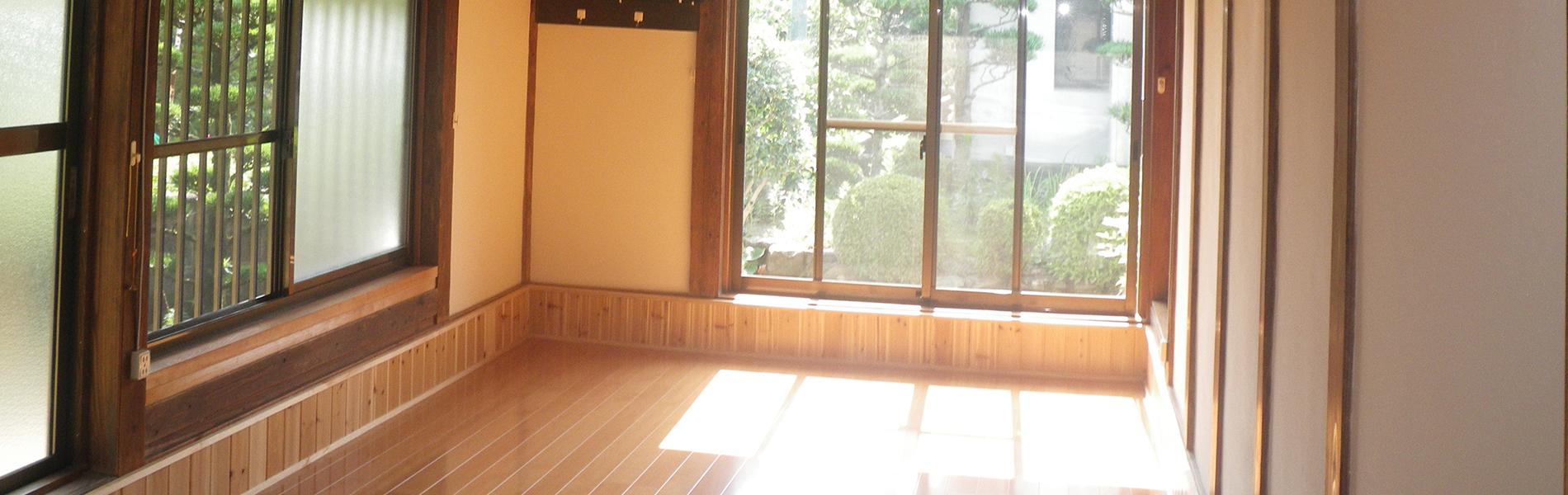 木のぬくもりを大切に 住まいの新築・リフォーム